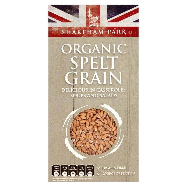 sharpham park organic spelt grain 500g from ocado