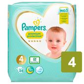 Pampers New Baby Nappies Premium Protection Size 4 Carry Pack