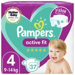 Pampers Premium Protection Size 4, 41 Nappies, Essential Pack