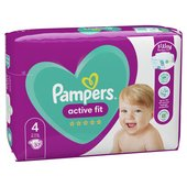 Pampers New Baby Nappies Premium Protection Size 4 Essential Pack