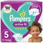 Pampers New Baby Nappies Premium Protection Size 5 Essential Pack