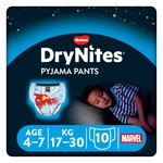 Huggies 4-7 years DryNites Pyjama Pants Spiderman