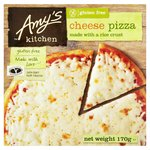 Amy's Kitchen Gluten Free Rice Crust Cheese Pizza Frozen