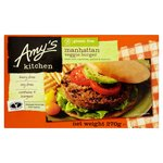 Amy's Kitchen Gluten Free Manhattan Veggie Burger Frozen