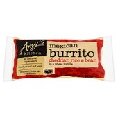 Amy's Kitchen Cheddar, Rice & Bean Burrito Frozen