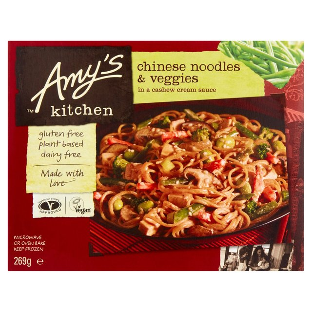 Amy\'s Kitchen Chinese Noodles & Veggies Frozen 270g from Ocado