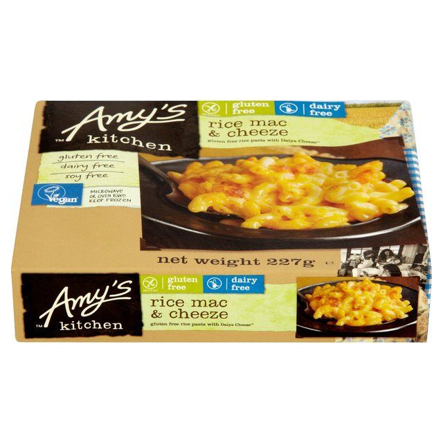 Amy S Kitchen Gluten Free Dairy Free Mac And Cheese