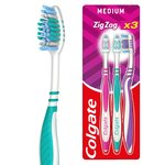 Colgate ZigZag Medium Toothbrush