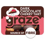 Graze Deconstructed Dark Chocolate Cherry Tart