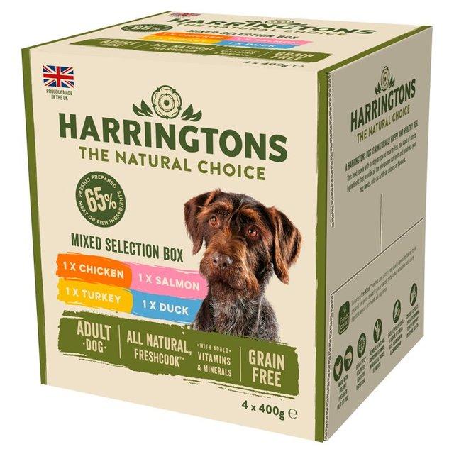 Harringtons Grain Free Mixed Selection Box Dog Food Ocado