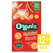 Organix Goodies Organic Alphabet Biscuits