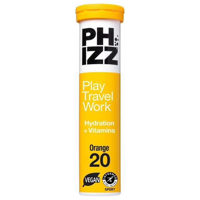 Phizz Orange Hydration, Energy & Vitamin Tablets - 20 Tablets