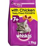 Whiskas 7+ Senior Complete Dry with Chicken