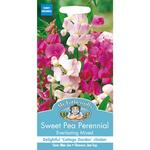 Mr Fothergills Sweet Pea Perennial Everlasting Mixed Seeds