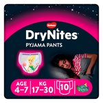 DryNites 4-7yrs Disney Fairies Pyjama Pants