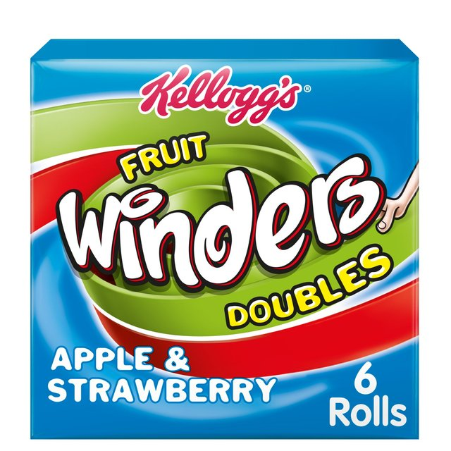 Kellogg's Winders Doubles - Strawberry & Apple