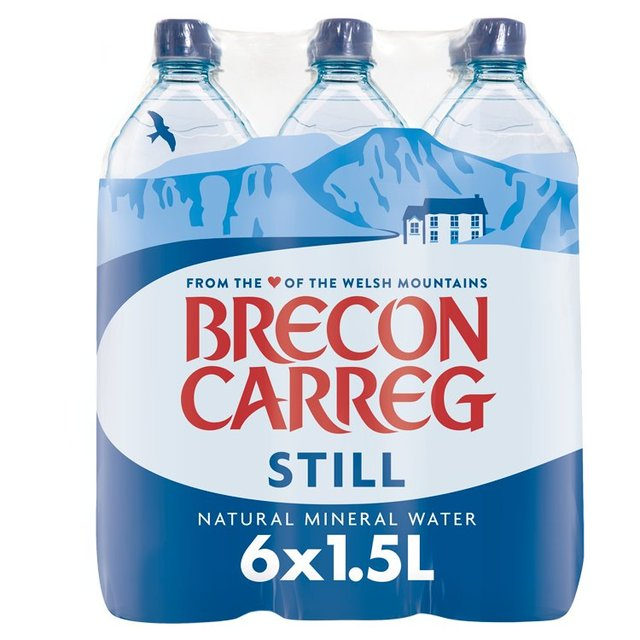 0a588247e7 Brecon Carreg Natural Still Mineral Water 6 x 1.5L from Ocado