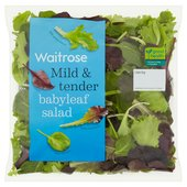 Waitrose Tender Baby Leaf Salad