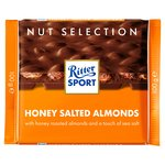 Ritter Sport Nut Perfection Honey Salted Almonds Milk Chocolate