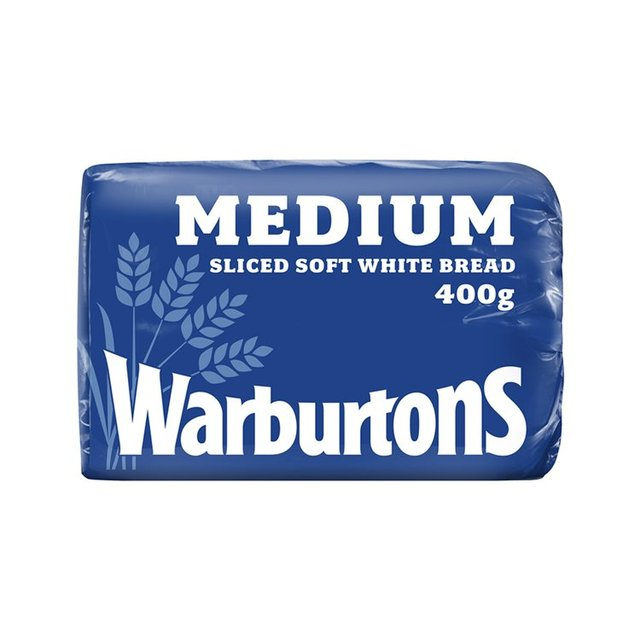 Warburtons White Sliced Medium Loaf