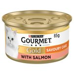 Gourmet Gold Savoury Cake Cat Food Salmon