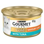 Gourmet Gold Savoury Cake Cat Food Tuna