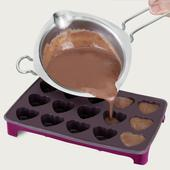 Metaltex Heart Shaped Chocolate Mould With Stand