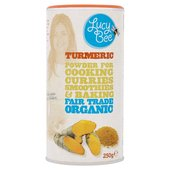 Lucy Bee Organic Raw Fair Trade Turmeric Powder