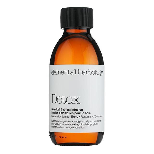Elemental Herbology Detox Bath Oil Botanical Bathing Infusion