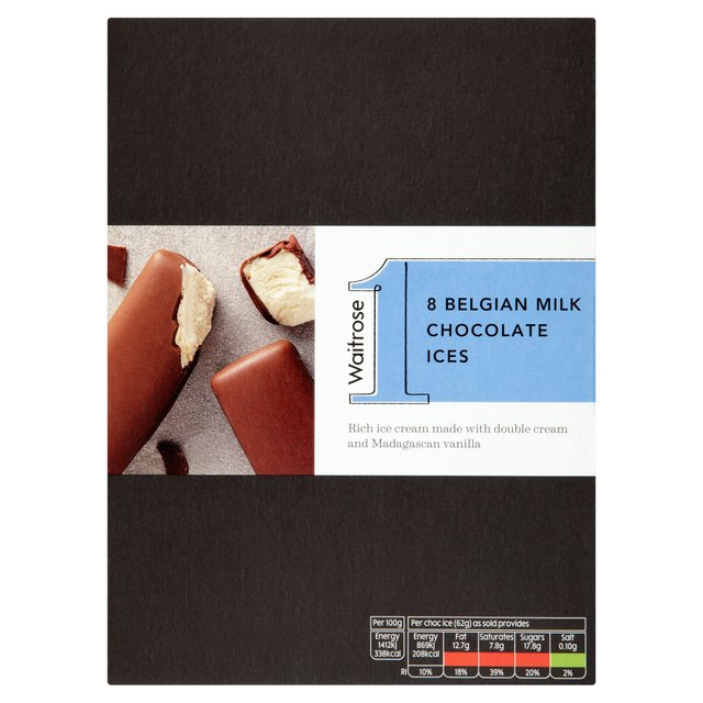 Waitrose 8 Milk Chocolate Ices