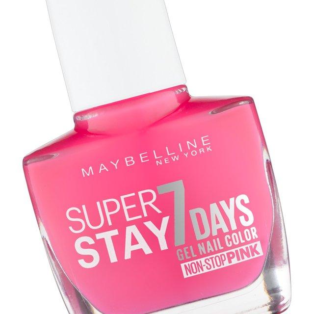 Maybelline Superstay 7 Days Gel Color, Magenta Surge 160 from Ocado