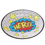 Ginger Ray Superhero Party Paper Plates