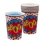 Ginger Ray Superhero Paper Cups 266ml