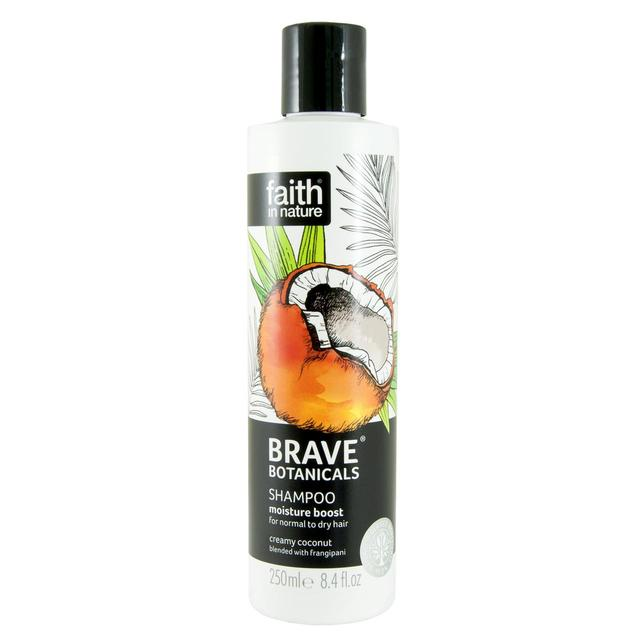 Faith In Nature Brave Botanicals Moisture Boost Shampoo