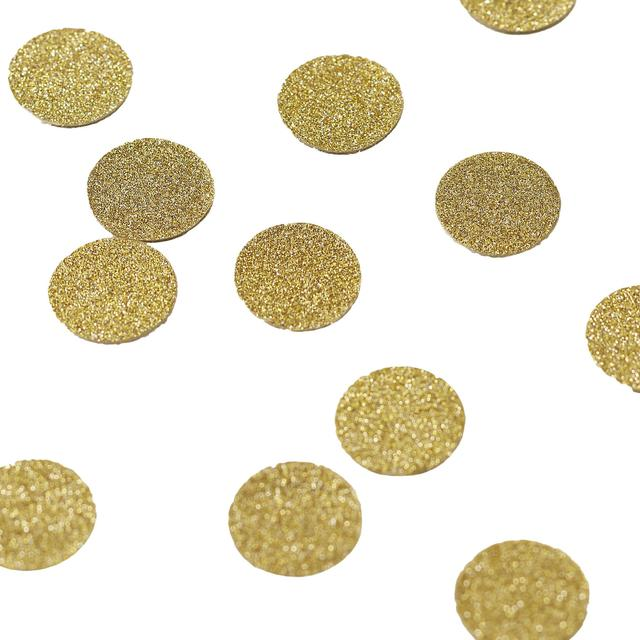 Ginger Ray Pastel Perfection Table Confetti Gold Glitter