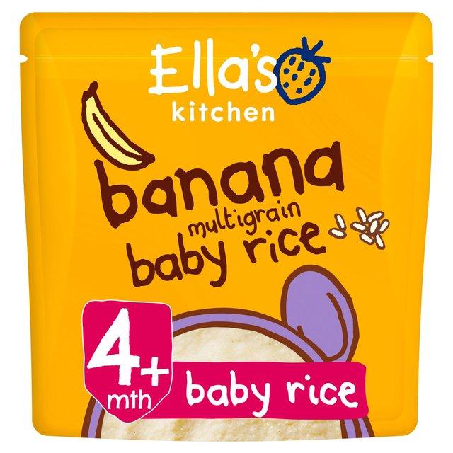 Ella's Kitchen Banana Multigrain Baby Rice | Ocado