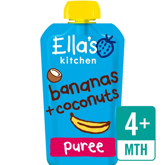 Ella Kitchen: Ella's Kitchen Bananas & Coconuts 120g From Ocado