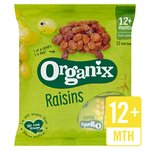 Organix Goodies Raisins 12 x 14g