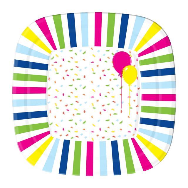Balloon Confetti Design Paper Plates  sc 1 st  Ocado & Balloon Confetti Design Paper Plates 10 per pack from Ocado