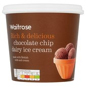 Triple Chocolate Dairy Ice Cream Waitrose