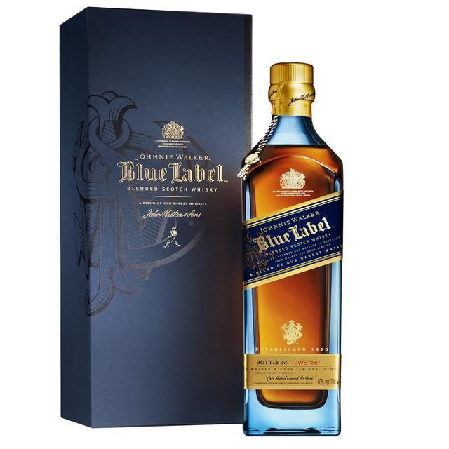 johnnie walker blue label whisky 70cl from ocado. Black Bedroom Furniture Sets. Home Design Ideas