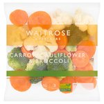 Waitrose Carrot, Cauliflower & Broccoli