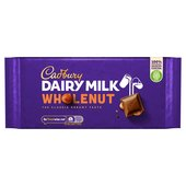 Cadbury Dairy Milk Wholenut Bar
