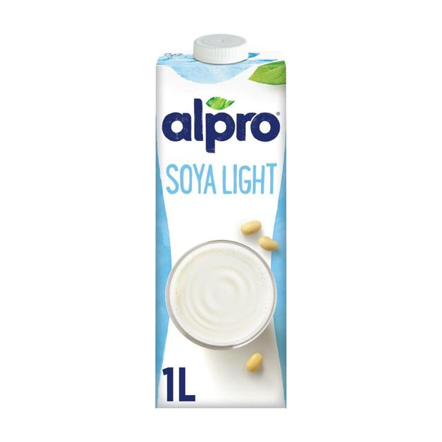 ocado alpro light uht soya milk alternative 1l product