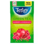Tetley Raspberry & Pomegranate Green Tea Bags