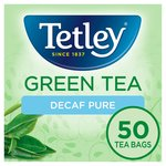 Tetley Green Decaffeinated Tea Bags