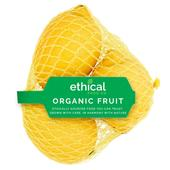 Ethical Food Company Organic Unwaxed Lemons