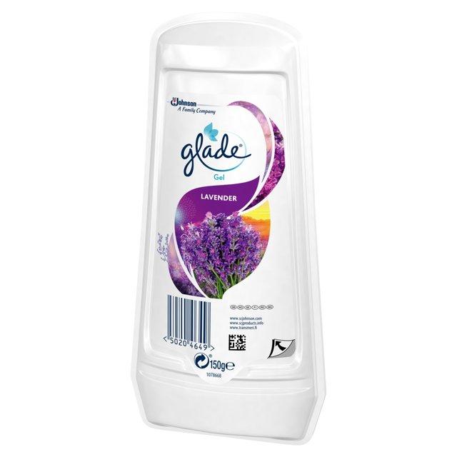 Glade Solid Gel Air Freshener Lavender 150g From Ocado
