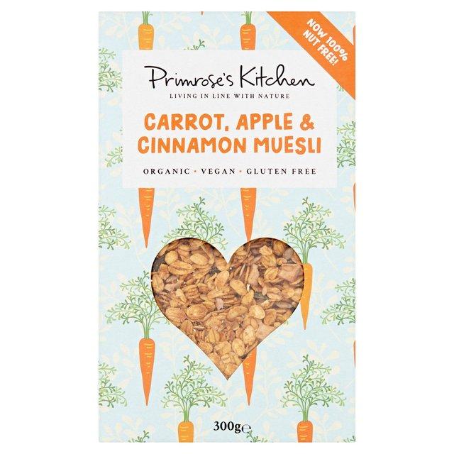 Primrose's Kitchen Organic Carrot, Apple & Cinnamon Muesli