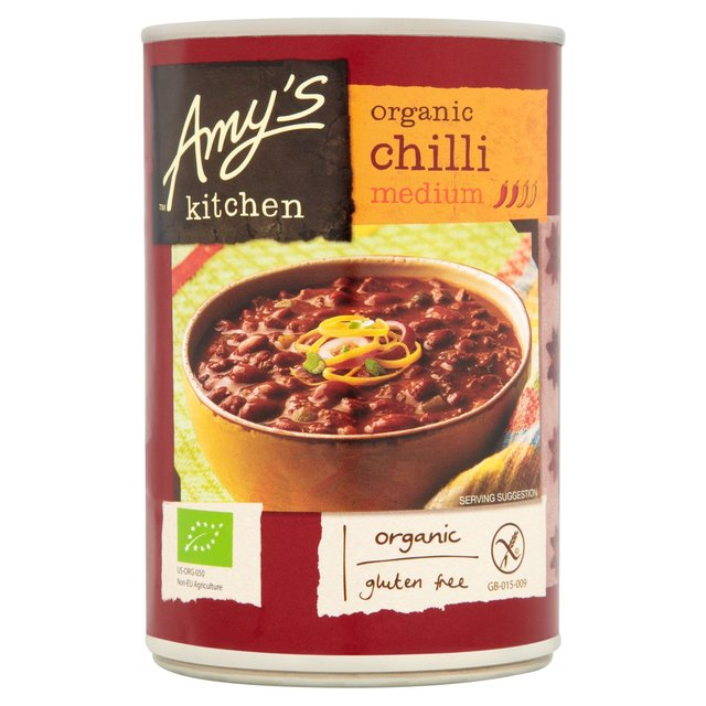 Amy's Kitchen Organic Medium Chilli | Ocado